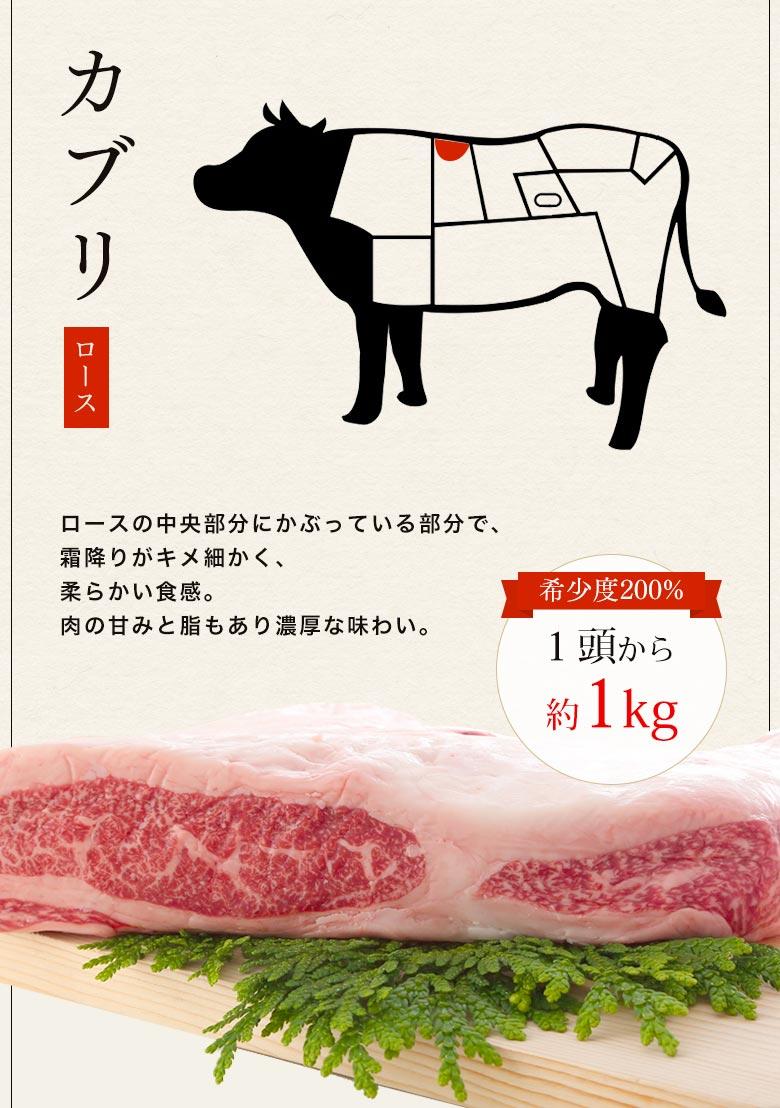 神戸牛カブリ